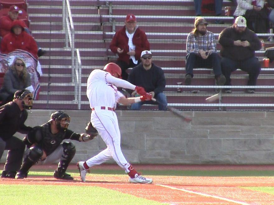 Jordan Fucci takes a swing