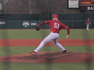 McCade Brown strikes out 16 Penn State batters