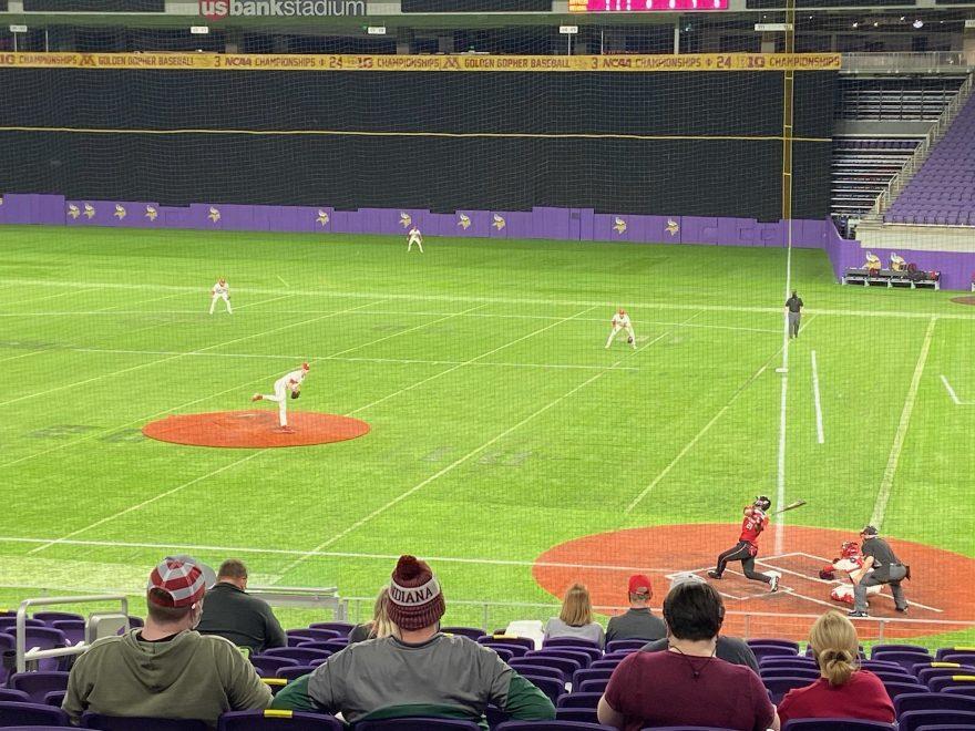 McCade Brown vs Rutgers at US Bank Stadium